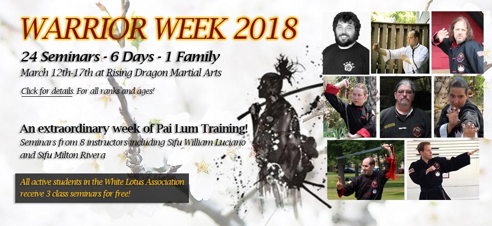 Warrior Week 2018